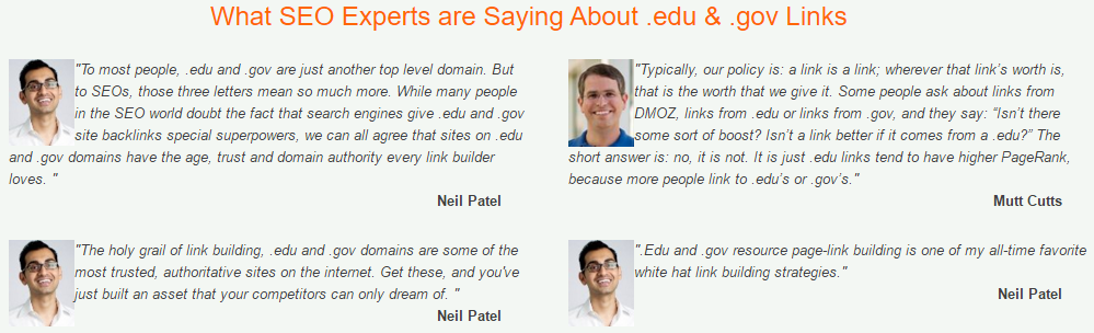 what expert are saying about SEO 3