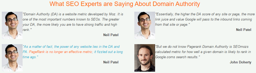 what expert are saying about SEO